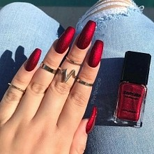 °RED° NAILS °