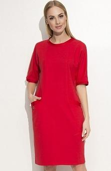 Makadamia M339 sukienka cze...