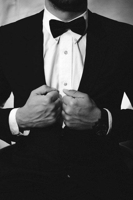 Wysportowani faceci w garniturach, mrr. :D