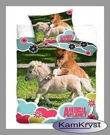 Pościel ze źrebakami - kolejny wzór pościeli z kolekcji konie