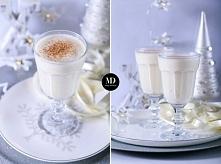 Świąteczny drink z whisky i rumem // Holiday milk punch #xmas #drinks #newyear #food #foodporn #photography