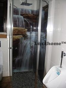 Jeśli #otoczaki są równe, posortowane tak jak w #Lux4home™ to idealnie sprawdzają się pod prysznicem bo masują #stopy... #prysznic #mozaiki #łazienka #kamień #wnętrza #projektow...
