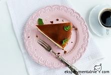 Przepis na sernik z toffi - przepis idealny - Toffee Cheesecake