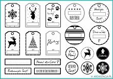 Pomysły na świąteczne etykietki