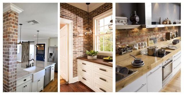 Cegla W Kuchni Aranzacja Ktora Pokochacie Na Dom Mieszkanie