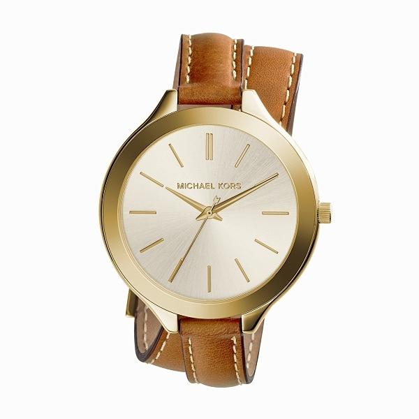 Zupełnie nowe Oryginalny zegarek damski Michael Kors MK2256 złota koperta i d OI04