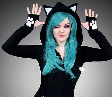 Bluza kocia