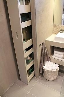 Ekonomiczne zagospodarowanie miejsca w łazience