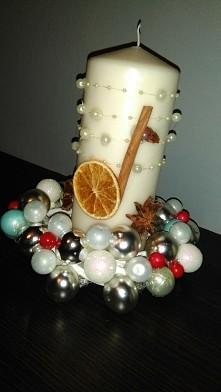 #BożeNarodzenie  Stroik świąteczny ❤