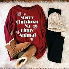 świąteczna stylizacja *-*