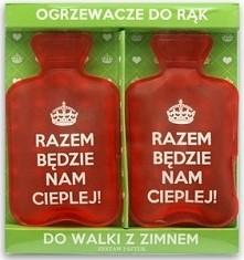Ogrzewacze do rąk :) idealne dla takich zimowych zmarzluchów jak ja ;)