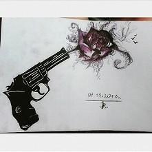 Oto mój pierwszy rysunek kr...