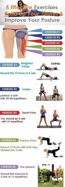 Ćwiczenia na pośladki i nie tylko