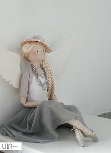 tilda anioł handmade