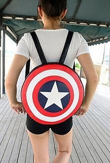Genialny plecak Kapitan Ameryka- Marvel