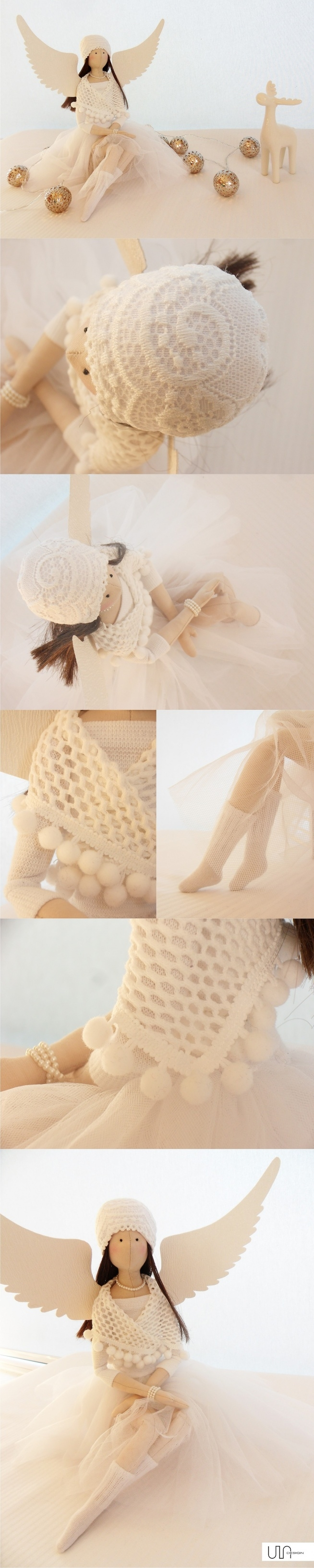 anielica tilda biała