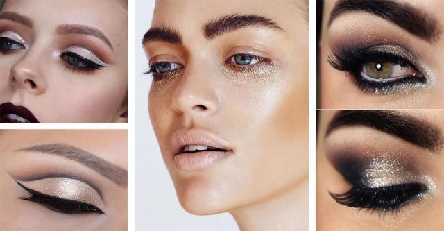 Wieczorowy Makijaż Z Brokatem Galeria Inspiracji Na Makijaż