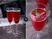 Sylwestrowy drink z szampan...