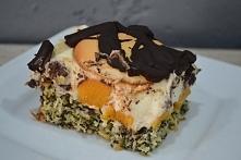 Ciasto z brzoskwiniami, kok...