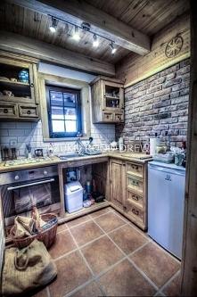 meble kuchenne woskowane