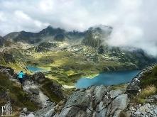 Tatry na szlaku.Krajobraz tatrzański.