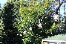 Jeden z dobrych pomysłów na oświetlenie ogrodu