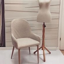 Krzesło tapicerowane Manuel