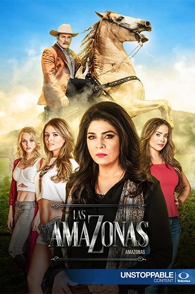 Las amazonas (2016)  Telenowela opowiada historię Victoriano, który padł ofiarą kłamstw i intryg. Wszystko uniemożliwia mu bycie z miłością jego życia. Victoriano jest ojcem trzech córek: Diana, Casandra i Constanza