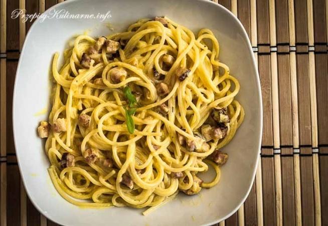 Spaghetti przepisu Wojtka