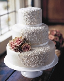 Tort weselny, marzy mi się taki <3