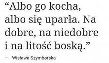 Szymborska kocham Cię ♥