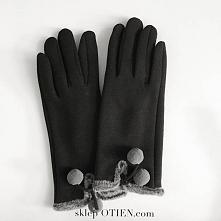 Przepiękne ciepłe rękawiczk...