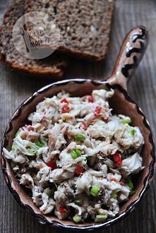 Pasta z makreli z marynowaną chili i szczypiorkiem