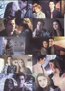 Stiles and Lydia ❤❤❤