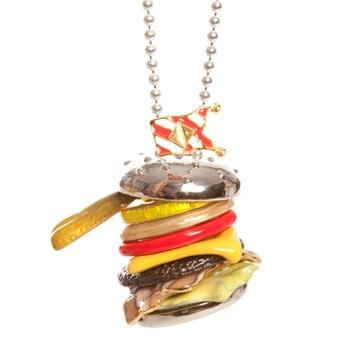 Naszyjnik hamburger