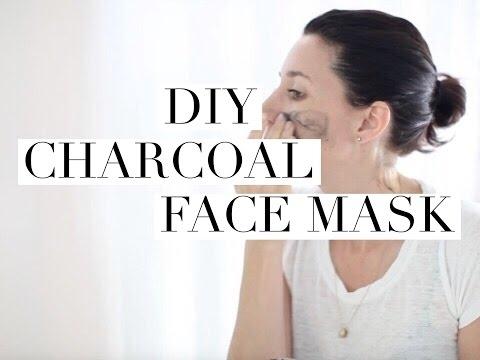 DIY Detoxifying Charcoal Face Mask
