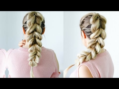 How to: Pull Through Braid - the perfect beginner friendly hairstyle