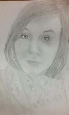 Portret mojej koleżanki.  C...