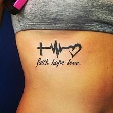 wiara... nadzieja... miłość...
