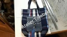 shopper xxl  krata pracownia kaletnicza Fb/Atelier Torebek