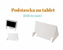 Podstawka na tablet DIY  Wy...