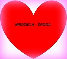 NIEDZIELA – ŚRODA Jest to związek, który raczej gwarantuje stabilizację, szcz...