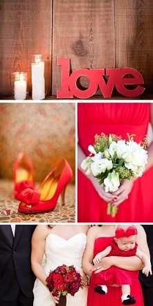 Ślub w czerwieni... ❤