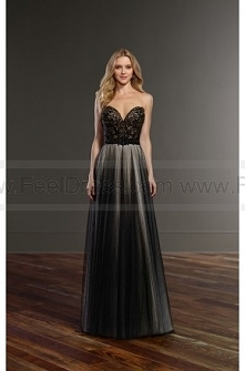 Martina Liana Backless Black Wedding Dress Separates Style Bryce + Sawyer