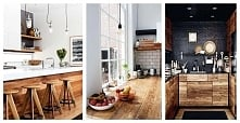 Drewniana kuchnia: 12 pomys...