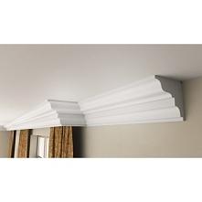 Listwa do zabudowy karnisza FKX03 Decostyr to idealne rozwiązanie do pomieszczeń zaaranżowanych w stylu klasycznym czy eklektycznym. Nienachalne zdobienia pozwalają na realizacj...
