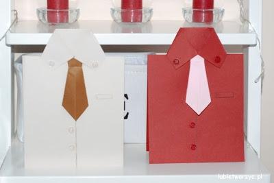 Tutorial, który poprowadzi Was przez wszystkie kroki prowadzące do utworzenia ślicznych kartek w kształcie koszuli! Idealny prezent na Dzień Dziadka lub Dzień Ojca! :)