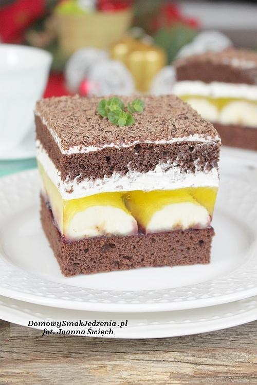 pyszne ciasto jamajka  Przepis po kliknięciu w zdjęcie :)