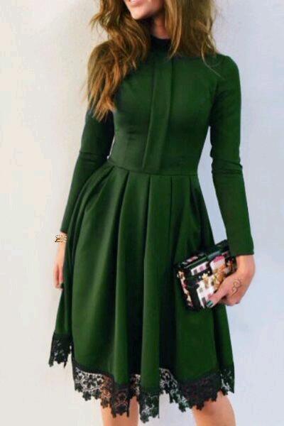 Zielona Sukienka Na Sukienki Zszywka Pl