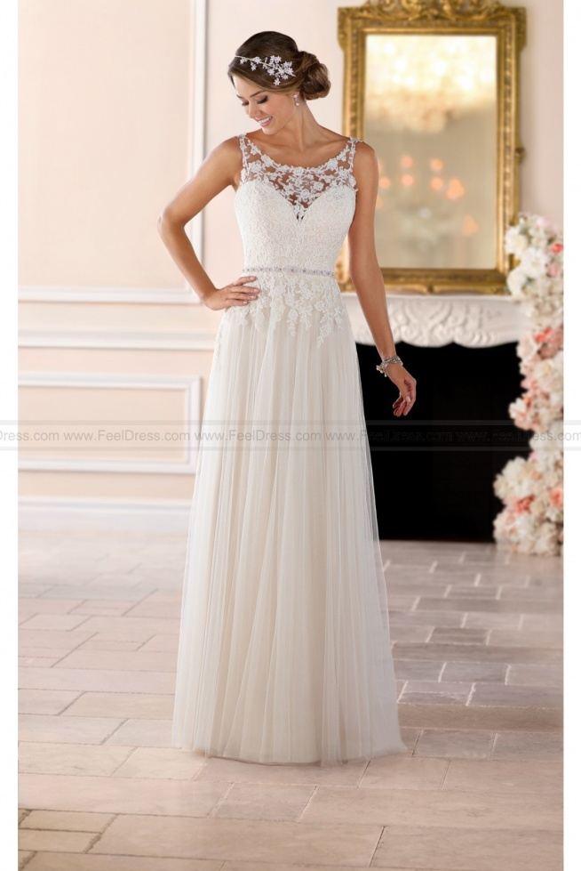 Stella York Grecian Column Wedding Dress Style 6399